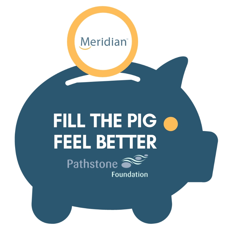 """Fill the Pig, Feel Better"" community campaign raises $50,000 for Pathstone Mental Health"