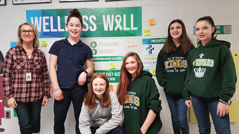 Wellness Walls pilot project arrives at Niagara Catholic schools, supporting Mental Wellness