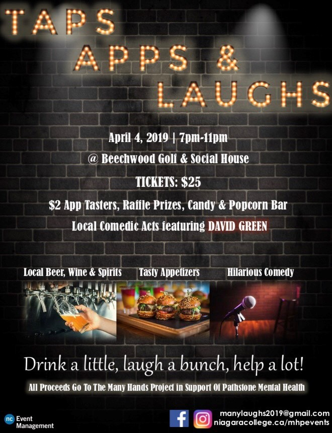 Taps, Apps & Laughs