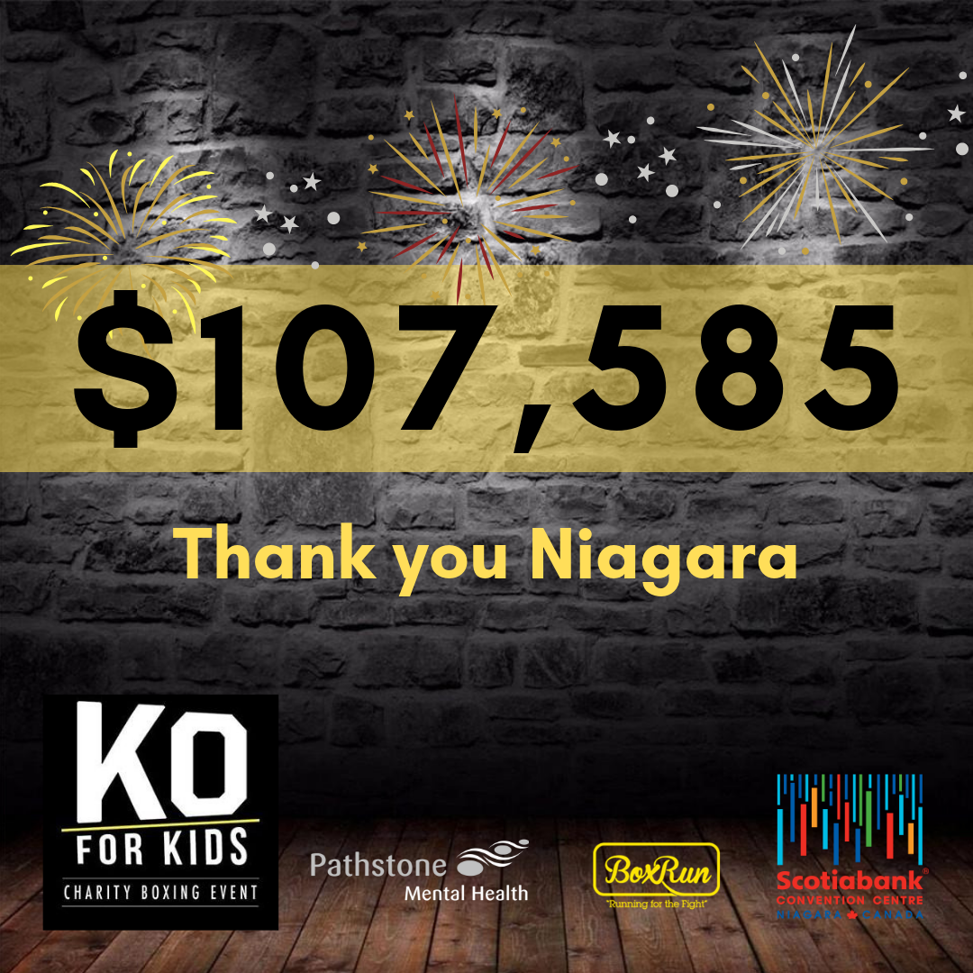 KO for Kids raises $107,585 for Kids in Niagara