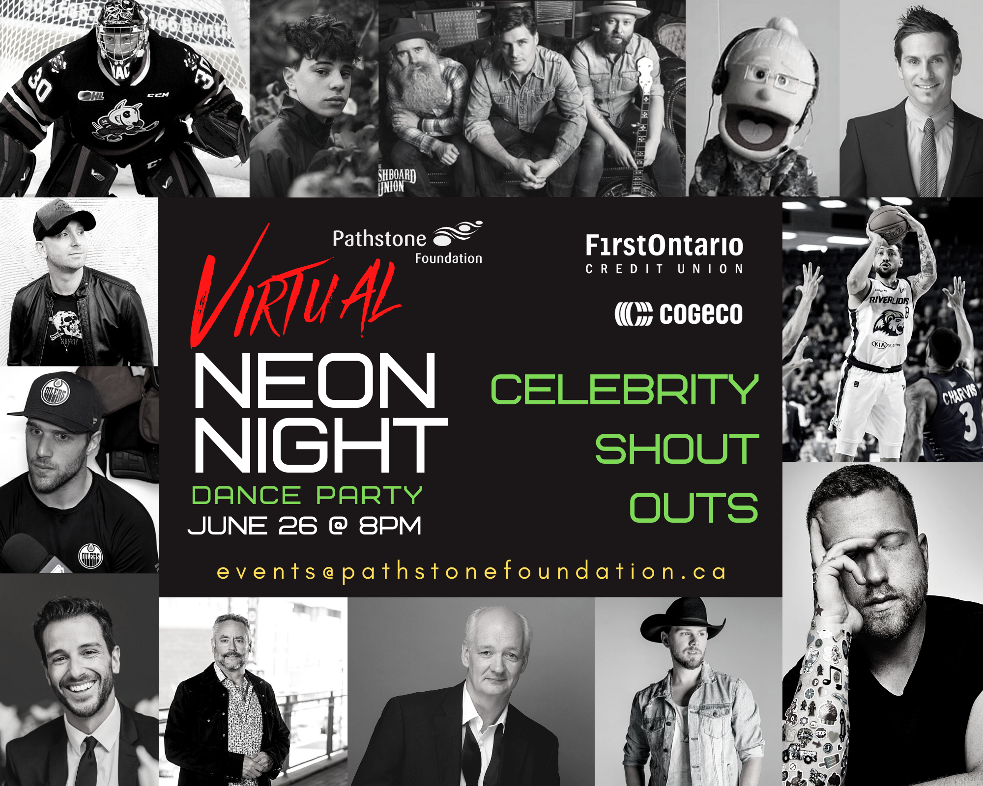 Neon Night Virtual Dance Party features Celeb Shout Outs to 2020 Graduates