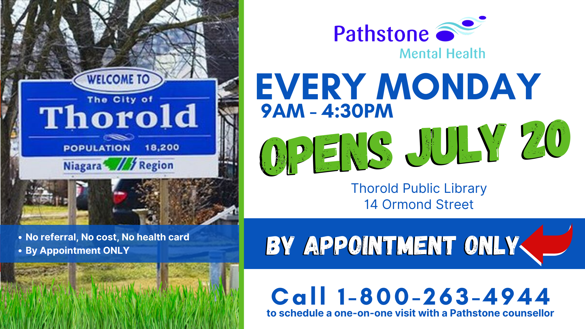 Pathstone Opens 9th Walk-In Clinic, in the City of Thorold